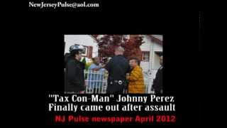 News reporter attacked reporting story in Paterson New Jersey.wmv