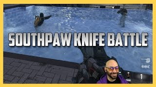 Legacy Southpaw Knifing Battle! - Call of Duty Advanced Warfare