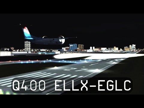 Prepar3d V4.1 - Luxair Dash 8 Q400 - Luxembourg to London City (ELLX-EGLC)