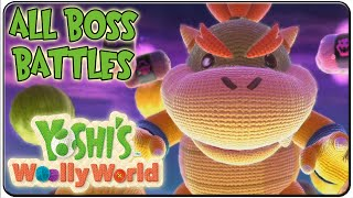 Yoshi's Woolly World All Bosses