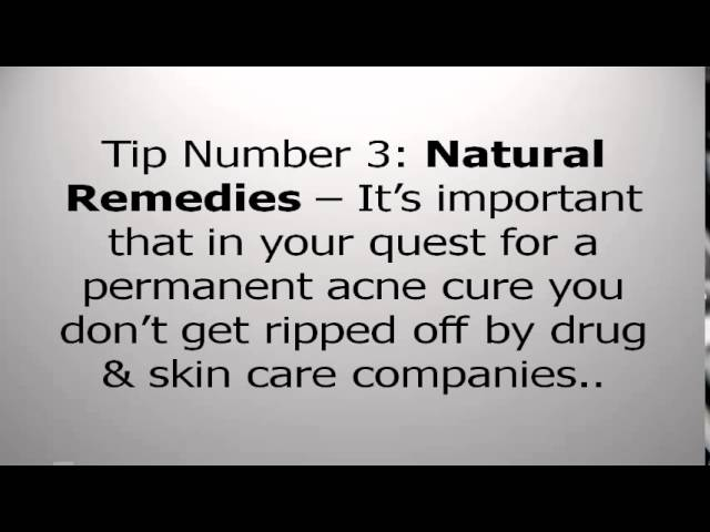 Natural Home Treatment For Pimples