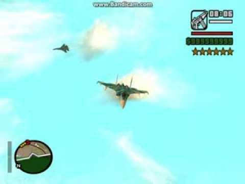 Perang Pesawat Hydra Jet Gta San Andreas