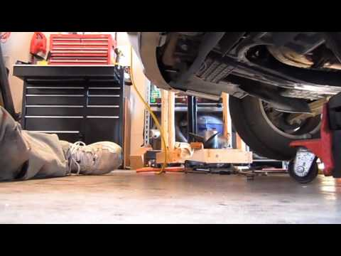 Nissan Quest front engine mount replacement how to