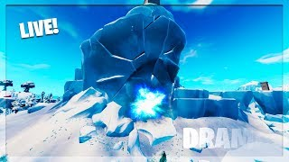 🔴 *NEW* FORTNITE POLAR PEAK LIVE EVENT NOW! POLAR PEAK CRACKING MORE! (FORTNITE BATTLE ROYALE)