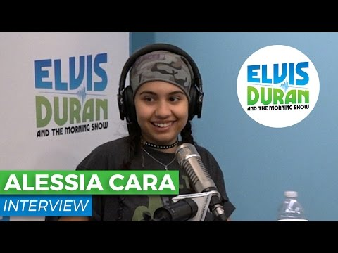Alessia Cara Chats About Performing in NYC's Historic Radio City | Elvis Duran Show