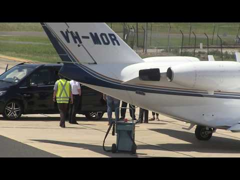 'KEITH URBAN's GHOST ACT AS HE DEPARTS MELBOURNE in PRIVATE JET'