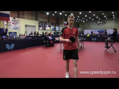 Katsman-Zagoskin.Teams Finale, Part 4.Russian Junior Table Tennis Championship 2019. FHD.