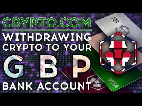 Withdrawing GBP From Crypto.com To A UK Bank Account - How Easy Is It?
