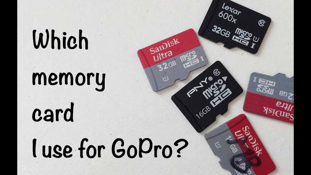 Which Memory Card I Use GoPro Tip 325