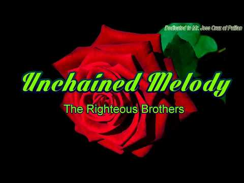 Unchained Melody with Lyrics (Chords)- Righteous Brothers