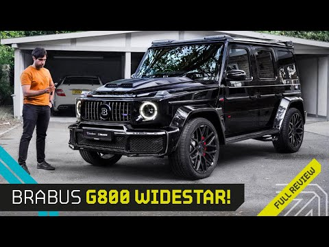 G800 Brabus!! The most BRUTAL AMG G63!