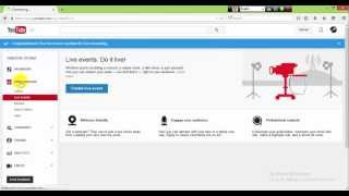 كيفية إنشاء موقع يوتيوب قناة مدفوعة و الارتباط مع ادسنس تحديث الفيديو 2015 (2)