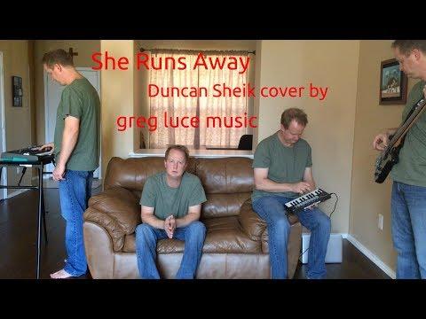 She Runs Away - Duncan Sheik cover by greg luce music