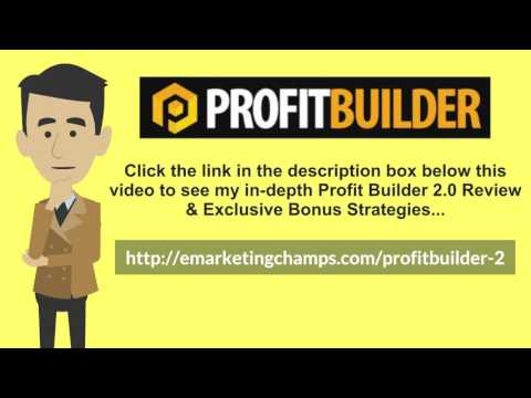 [Profit Builder 2.0 Review] Honest Review & Bonus Strategies: (WP Profit Builder 2 Review) See honest review of Profit Builder 2.0, learn how it works & discover unique Profit Builder 2.0 BONUS strategies: http://emarketingchamps.com/profitbuilder-2/  ---- That is the reason why you have to think about the size of your niche before creating your Profit Builder 2.0 review site. Maybe you could begin by making a fair assessment of the kind of resources that you have at your disposal. What is the budget you have? How many people are working with you? What is their expertise? What are your qualifications? What eligibilities do you have? And, most importantly, what are the visions that you have about your business?  These are the questions that you should ask yourself before your create your Profit Builder 2.0 bonus package and get good answers to when you are planning on the size of your niche. You need to make sure that you select a size that works for you—a size in which you can fulfill your business's goals and ambitions.  Moreover, there is one very important thing. Whatever business you start with, one day you will need to expand it. At that time, you will want to widen your niche. That is why, even if you are choosing a small niche now, make sure that there is scope for growth. Your niche should be able to grow when you are ready for it. Will you be able to implement techniques that will help you find more people to add to your niche, and hence aid you in growing your business? The preliminary planning that you make for your business is what dictates its future. At the same time, I should tell you not to be too reserved and restrained in your thinking—there is a lot you can do if you visualize and plan hard. So, let yourself loose!  Profit Builder 2.0 Review - https://www.youtube.com/watch?v=wJ_w_3kztho  See honest review of WP Profit Builder 2, learn how it works & discover unique WP Profit Builder 2 BONUS strategies:  http://emarketingchamps.com/profitbuilder-2/