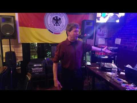 Robert Mitchum Manor Oktoberfest karaoke