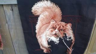 """Вышивка крестом: Фирма Риолис """"Персидский кот"""" отчет №2 СП """"Мои любимые коты"""""""