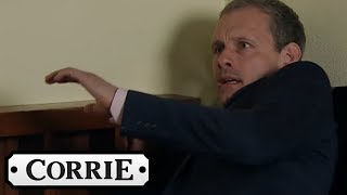 Max Tries to Clobber Nick with a Cricket Bat | Coronation Street