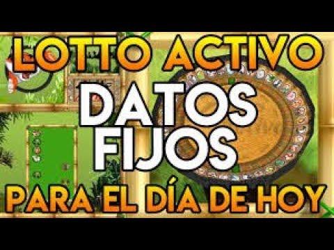 DATOS DE LOTTO ACTIVO PARA GANAR 19/01/18 /El Rey LoTTo