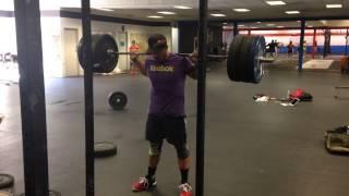 Jason Khalipa 20 rep backsquat at 315