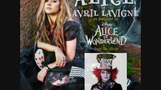 Alice (From Alice In Wonderland) - Avril Lavigne download+ lyrics