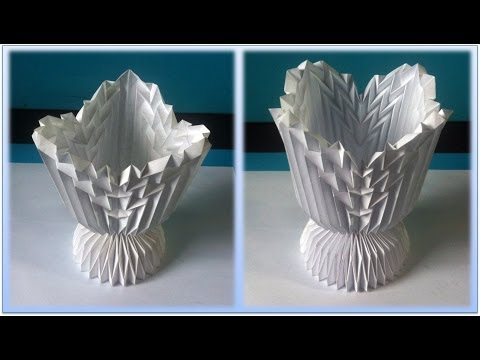 Tutorial 4 - Folding Cup Intersecting Patterns. Part 2/2 (Neospica Neoliveart)