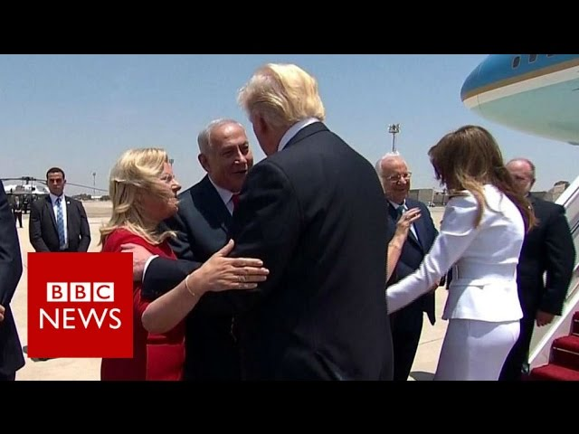 "Trump in Israel: ""Rare opportunity to bring peace and stability"" BBC News"