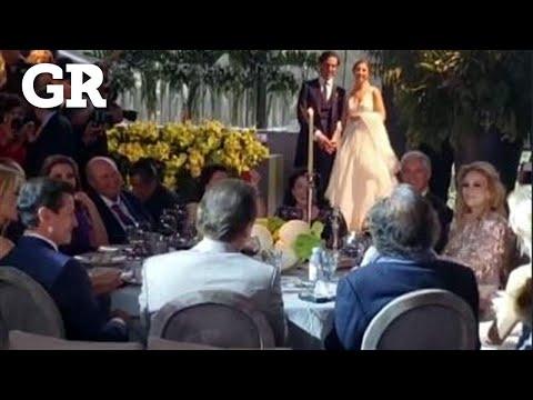 Asisten a boda Peña Nieto  y Tania Ruiz