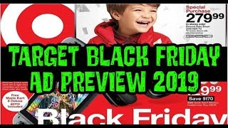 Target Black Friday Ad Preview 2019