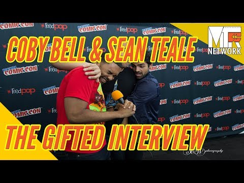 NYCC THE GIFTED: The Bros Coby Bell & Sean Teale Shutdown the Pressline