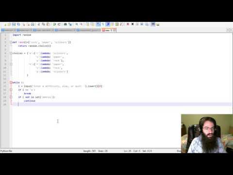 Let's Code Python: Rock Paper Scissors