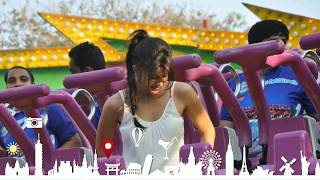 essel world top spin ride , 7 wonders of mumbai amusement park , maharastra tourism