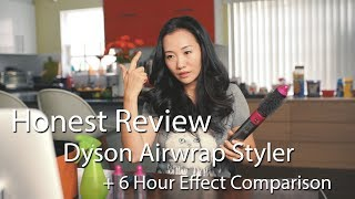 Honest Review of Dyson Airwrap + How Well Curl Retains After 6 Hours (Wear Test)