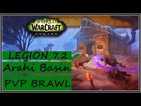 Brawl: Arathi Blizzard - World of Warcraft Legion 7.2 PVP - Resto Druid Gameplay