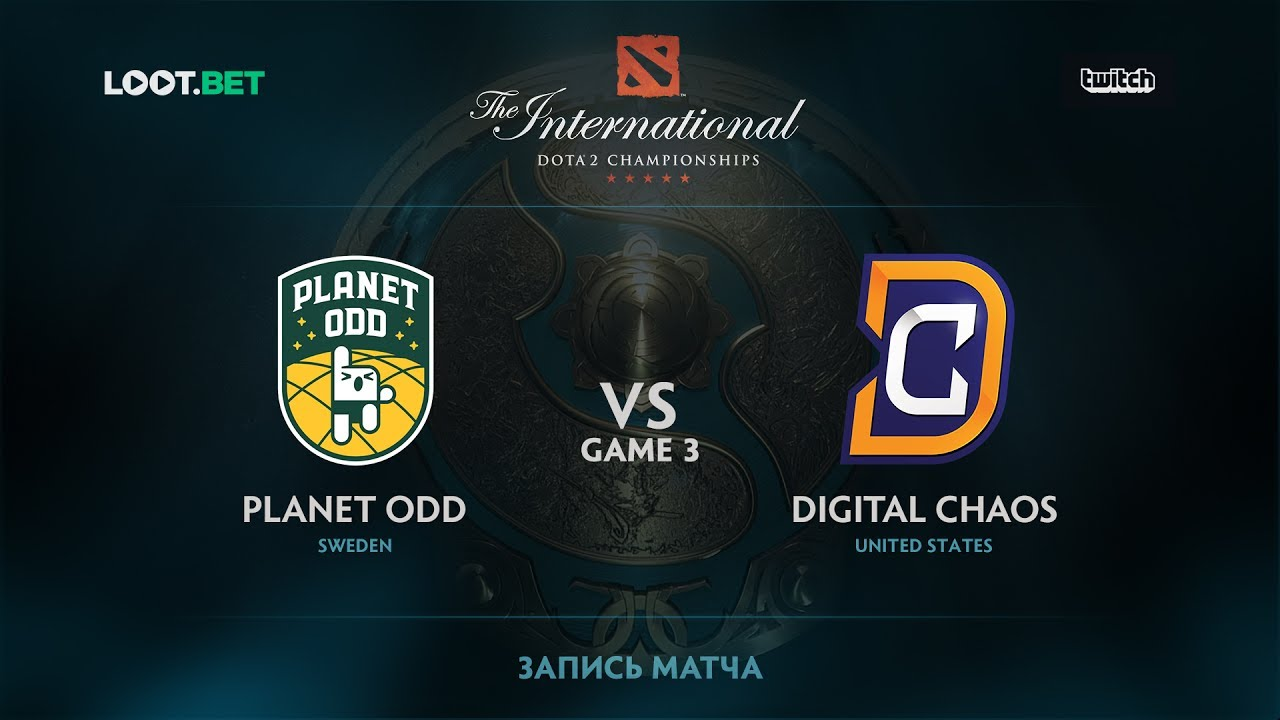 Planet Odd vs DC, Game 3, The International 2017 NA Qualifier