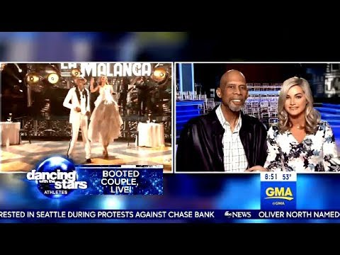 Recap Of DWTS 26 Week 2 With Rashad Jennings - Kareem & Lindsay (GMA)