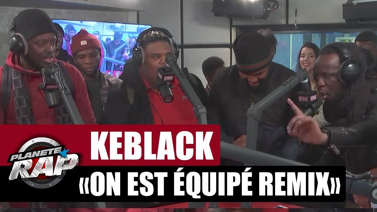 keblack ft naza on est equipe