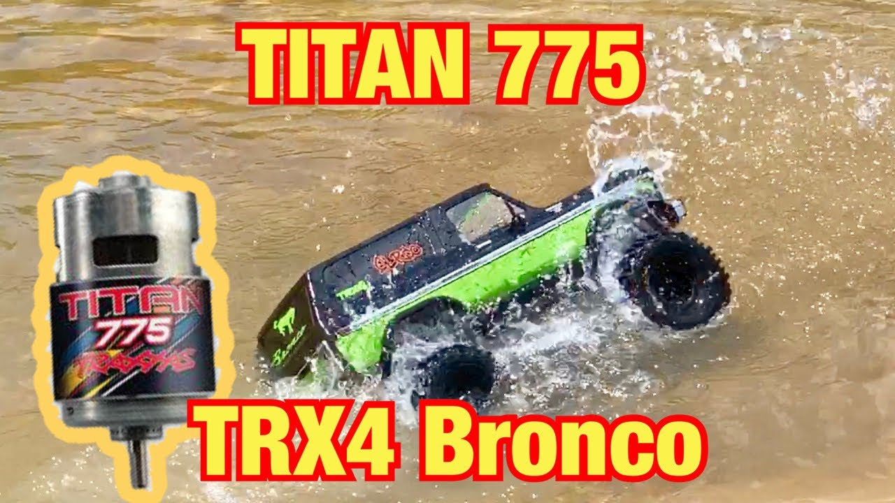 Titan 775 in TRX Bronco