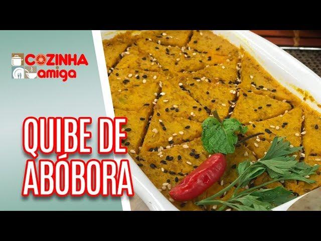 Quibe de Abóbora Recheado - Raquel Novais | Cozinha Amiga (08/02/19)