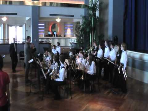 Cane Creek Middle School Jazz Band at Festival Disney 2011 - Adjudication