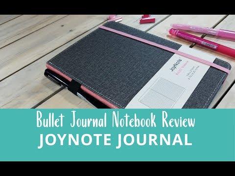 JoyNote Executive Notebook - bullet journal review + pen test