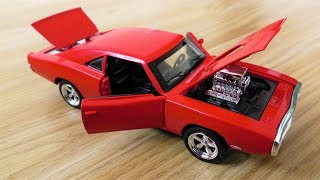 REVIEW DODGE CHARGER TOY CAR MODEL 1;32