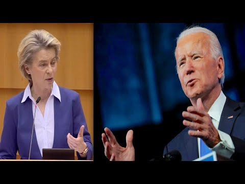 Joe Biden inauguration: Europe is ready for a new beginning - EU Commission President von der Leyen