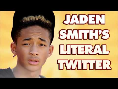"""Jaden Smith's Literal Twitter"" - Comedy Button Clip"