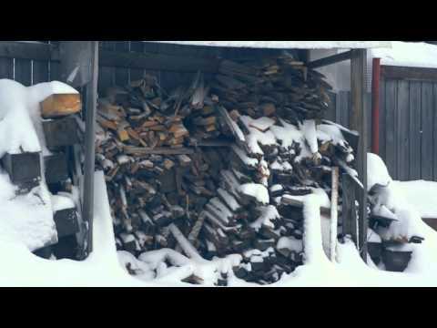 Видео: Зима на даче
