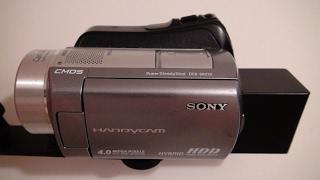 2008 Sony Handycam DCR SR220 60GB Hard Drive