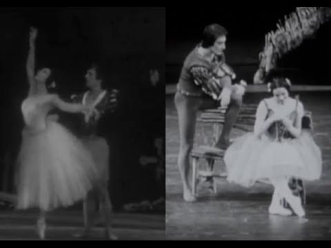 Yvette Chauviré - 'Giselle' with [1] Rudolph Nureyev and [2] Cyril Atanassoff