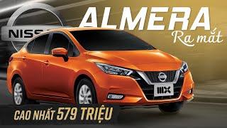 Nissan Almera cao nhất 579 triệu: 3 điểm DUY NHẤT phân khúc đấu Vios, Accent