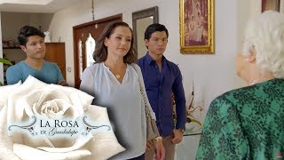 Gertrudis desea conocer a su nieto | Herencia maldita | La Rosa de Guadalupe