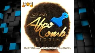 Afro Comb Riddim 2015 mix [Jazzwad Presents] (Dj CashMoney)