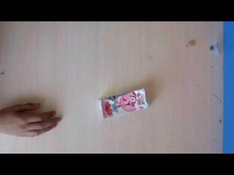 Как сделать бомбу из коробки из под сока